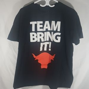 WWE Team Bring It The Rock T-Shirt Size XL